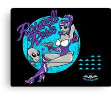 Roswell Rosie  Canvas Print