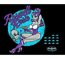 Roswell Rosie  Photographic Print