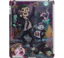 Cartoon Zombie Party iPad Case/Skin