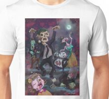 Cartoon Zombie Party Unisex T-Shirt