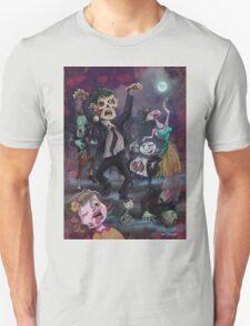 Cartoon Zombie Party T-Shirt