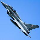 Typhoon of 29(R) Sqn RAF by Mark Baldwyn