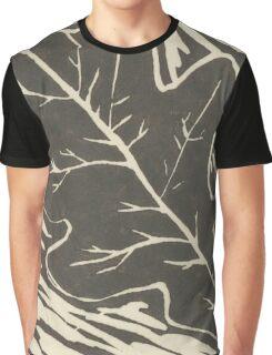 Oak Leaf Lino Cut 3 Graphic T-Shirt
