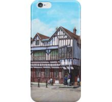 Tudor House Southampton Hampshire iPhone Case/Skin