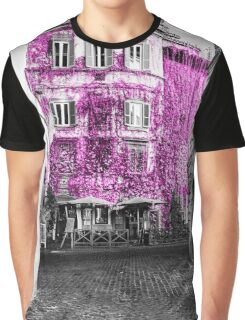 Facade in Rome Italy Graphic T-Shirt