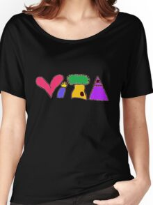 ViTA shirt has much vitality Women's Relaxed Fit T-Shirt