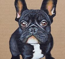 French Bulldog by PaperTigressArt