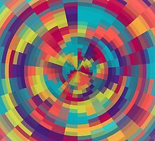 Spiral of color II by xart