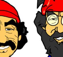 Cheech and Chong  Sticker