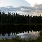 A Lake In The Wilderness  by SunDwn