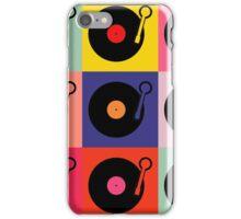 Vinyl Record Pop Collage iPhone Case/Skin