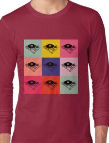 1200 Record Turntable T-Shirt Long Sleeve T-Shirt