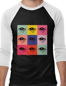 1200 Record Turntable T-Shirt Men's Baseball ¾ T-Shirt