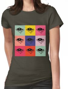1200 Record Turntable T-Shirt Womens Fitted T-Shirt