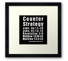 Counter Strategy Framed Print