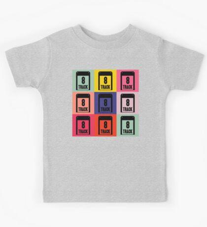 8 Track Pop Art T-Shirt 2 Kids Tee