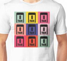 8 Track Pop Art T-Shirt 2 Unisex T-Shirt