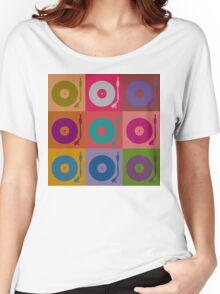Vinyl Record Pop Art 4 Women's Relaxed Fit T-Shirt