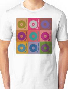 Vinyl Record Pop Art 4 Unisex T-Shirt