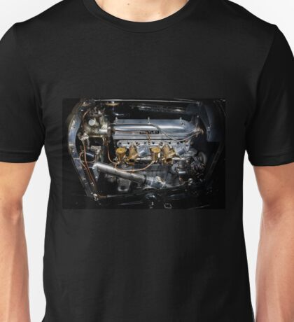 4.5 Litre Bentley Engine Unisex T-Shirt