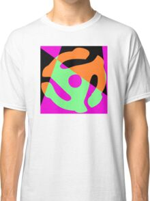 Abstract 45 Record Holder Classic T-Shirt