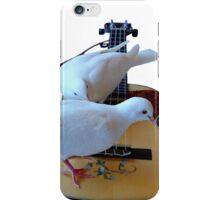 Musical Doves - Ukulele NZ iPhone Case/Skin