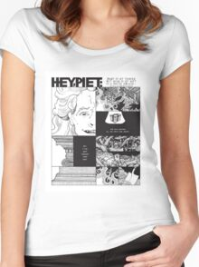Hey Piet - Body Is My Temple Women's Fitted Scoop T-Shirt