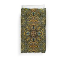 Kaleidoscope flowers in attractive colors Duvet Cover