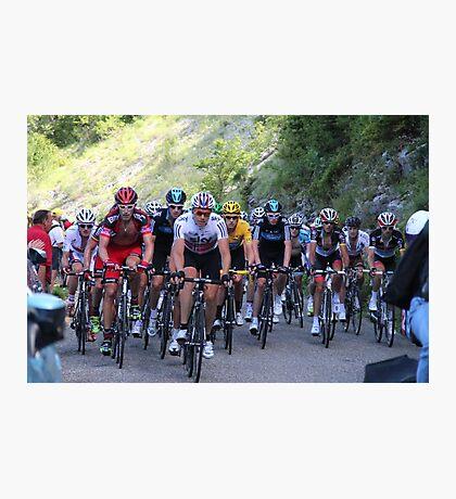 Tour de France Peloton - Col du Grand Colombier 2012 Photographic Print