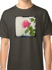 A single pink rose Classic T-Shirt