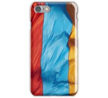 Waving Flag of Armenia From 2014 Winter Olympics iPhone Case/Skin