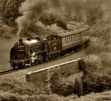 Southern 825 Locomotive (Sepia) by © Steve H Clark Photography