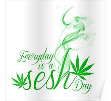 Everyday is a Sesh day Poster