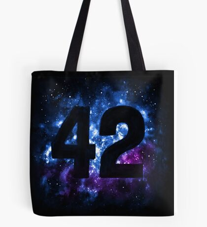 42 in Space Tote Bag
