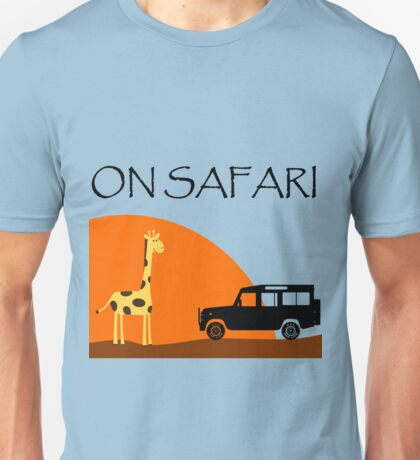 On Safari - Defender 110 Unisex T-Shirt