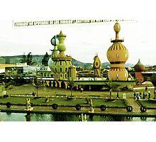 Cute amusement park.  Photographic Print