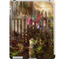 Garden - Zoar, OH - Ready for rain iPad Case/Skin