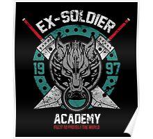 Ex-Soldier Academy Poster