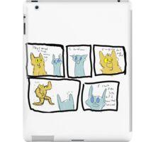 Lionblaze and Jayfeather iPad Case/Skin