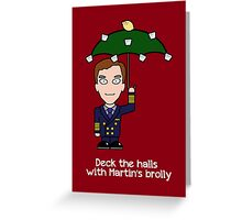 Cabin Pressure Christmas card: Martin Greeting Card
