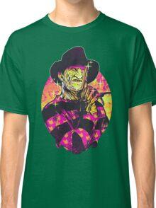 Neon Horror: Freddy  Classic T-Shirt