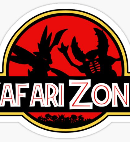 Jurassic Park - Safari Zone Sticker