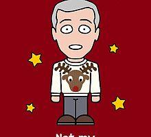 Sherlock Christmas card: Not My Deer Fashion by redscharlach