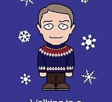 Sherlock Christmas card: Watson Wonderland by redscharlach
