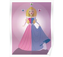 Symmetrical Princesses: Sleeping Beauty Poster
