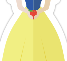 Symmetrical Princesses: Snow White Sticker