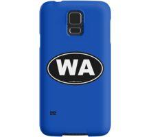 Washington State WA Euro Oval  Samsung Galaxy Case/Skin