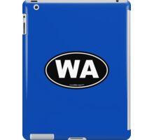 Washington State WA Euro Oval  iPad Case/Skin