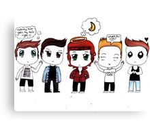 """""""Chibi Direction"""" - One Direction Canvas Print"""