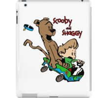 Scooby and Hobbes iPad Case/Skin